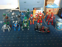 Lego bionicles and hero factory joblot