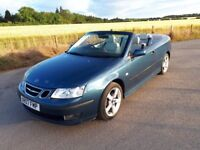 Saab 93 Convertible 2007 1.8T Vector Sport - FSH - Leather - Built to last
