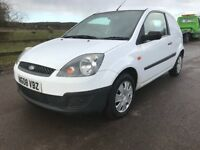 2008 08 REG FORD FIESTA VAN 1.4 TDCI,1 YEAR MOT,SPOTLESS,1 OWNER