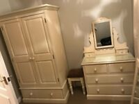 Cream Furniture bedroom set