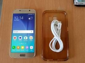 Samsung galaxy S6 unlocked gold