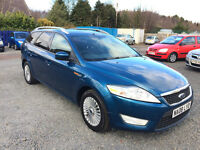 STUNNING--FORD MONDEO TDCI --ESTATE DIESEL--LONG MOT///NEW CLUTCH AND FLYWHEEL REPLACED