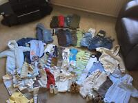 LARGE JOB LOT Boys Baby Clothes