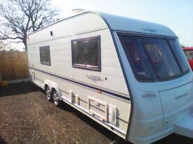 2003 coachman laser 4 berth caravan