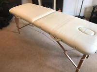 Portable massage/beauty couch