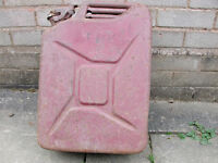 JERRY CAN WW-2 1943 5-GALLON --- VINTAGE---