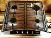 Neff gas hob stainless steel