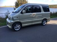 Toyota Sparky possible micro camper, similar size to a hijet, Suzuki, 7 seater, 4wd very versatile