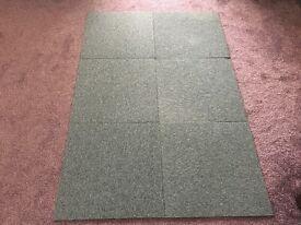Grey Carpet Tiles 500 x 500 (200 x available)