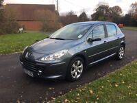 Peugot 307 AUTOMATIC, low mileage, fabulous condition, full history, cambelt done