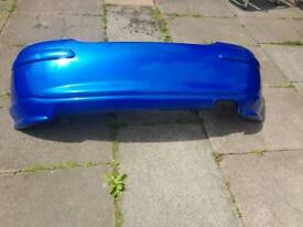 Mg zr rear bumper