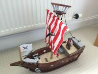 ELC wooden pirate ship