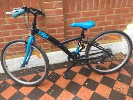 "Bike 24"" B'Twin 'Original 3 1986' plus lock"
