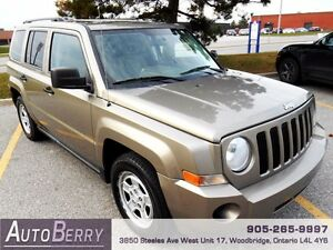 2008 Jeep Patriot Sport 4WD **CERT E-TEST ACCIDENT FREE**