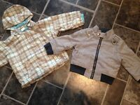 Boys 9-12m lightweight jackets
