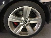 "Bmw 18"" Alloy wheels with tyres"