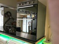 Indesit Integrated Double Oven