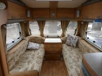 SWIFT CHALLENGER 500 - 4 BERTH TOURING CARAVAN - FIXED BED - FOR SALE - PART OF COASTFIELDS GROUP