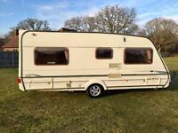 Abbey vogue GTS fixed bed/motor mover/awning excellent condition