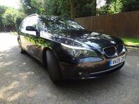 BMW 520D BUSINESS TOURING ESTATE AUTO BLACK NOT 320D 330D 530D M SPORT AUDI A6 A4 S LINE VW PASSAT