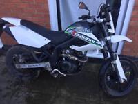 2016 Motorini smr 125cc moterbike