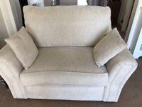 3 seater sofa and snuggle sofa