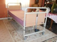 Hospital type bed