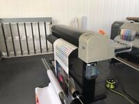 Mutoh ValueJet 1304 large format, eco-solvent printer
