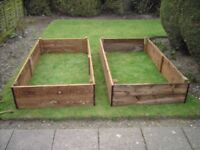 Raised Garden Beds. Flower or Vegetable. 6ft x 3ft x 6ins. Free Delivery and Assembly Norwich Area.