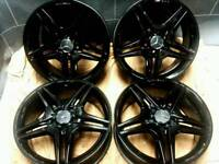 18 inch 5x112 genuine Mercedes A / CLA class alloy wheels