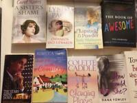 Books adults mixed authors £1- each, collect or can send by courier