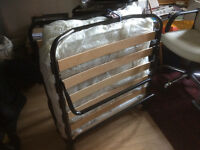Single Fold Up bed, in great condition