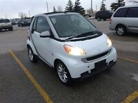 2009 smart fortwo passion,AUTO,A/C,ALL POWER OPTIONS,CONVERTIBLE