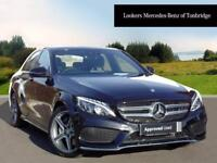 Mercedes-Benz C Class C200 D AMG LINE PREMIUM PLUS (black) 2017-09-30