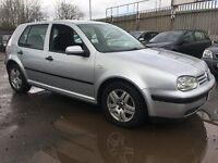 2002 Volkswagen Golf 1.6 SE 5dr **AUTOMATIC***** FSH, CAMBELT REPLACED***