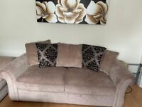 Three seater sofa from DFS