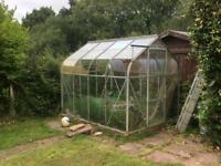FREE greenhouse for collection, buyer must dismantle.