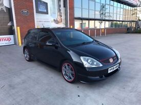 Honda Civic 2.0 i-VTEC Type R Hatchback 3dr, p/x welcome NEW CLUTCH & TIMING CHAIN