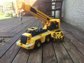 CAT toy crane
