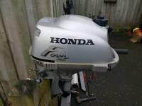 Honda outboard boat engine
