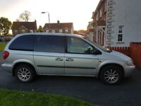 Chrysler Voyager 7seater 2.5D 2004