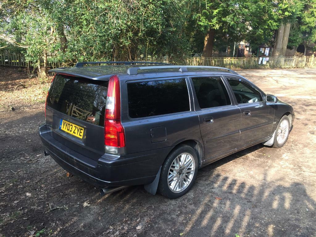 2003 volvo v70 d5 sport manual only 93k miles 12 months mot eco remapped immaculate in. Black Bedroom Furniture Sets. Home Design Ideas