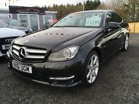 2011 Mercedes-Benz C220 Sport AMG, 12 Months Warranty, Finance Available