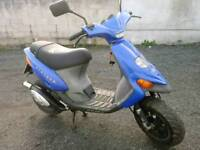 2000 Gilera stalker 50cc *ONLY 1800 MILES FROM NEW * 12 MONTHS MOT.