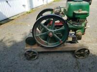 Stationary engine bentall pioneer open crank 1/2 to 2. 1/2