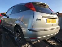 Ford Focus silver rear tailgate / boot