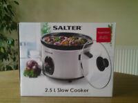 SALTER 2.5L SLOW COOKER