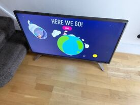 """LG 43"""" 4K ULTRA HD SMART HDR TV EXCELLENT CONDITION FULL WORKING ORDER £260 NO OFFERS CAN DELIVER"""