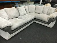 NEW / Ex Display DFS Cord Corner Sofa