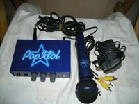Pop idol dvd karaoke with microphone